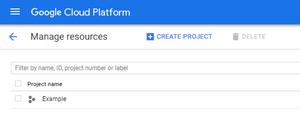 Google Cloud Platform Manage Resources
