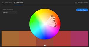 Adobe Color Home Page